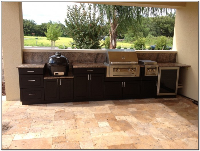 Modern Outdoor Kitchen Cabinets