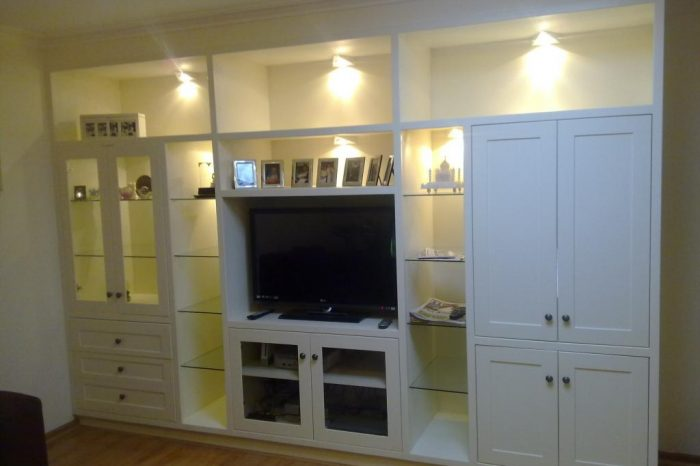 white-TV-unit