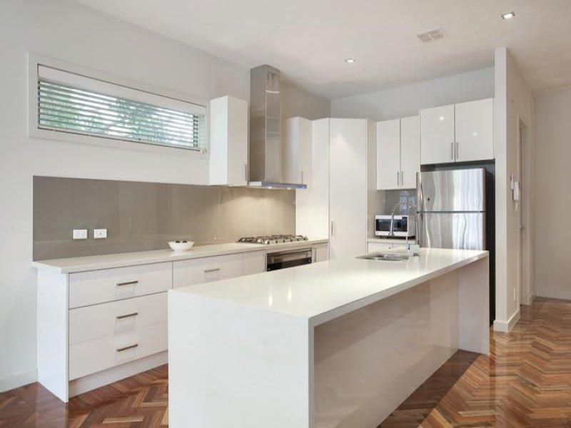 White apartment for Kitchen ideas no island